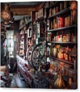 Americana - Store - Corner Grocer  Canvas Print