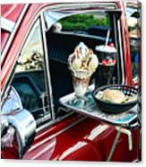 Americana - The Car Hop Canvas Print