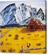 Americana - Plains Of Colorado Canvas Print