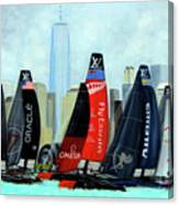 America's Cup New York City Canvas Print