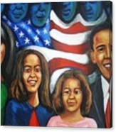 America's First Family Canvas Print
