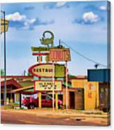 America's Mainstreet Canvas Print