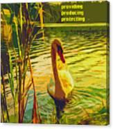 Americas Wetlands Canvas Print