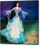 Ameynra. Night Dance Before Wedding Canvas Print