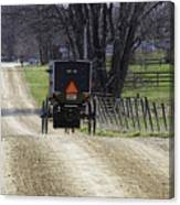 Amish Buggy March 2016 Canvas Print
