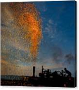 Amish Fireworks Canvas Print
