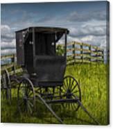 Amish Horse Buggy Canvas Print