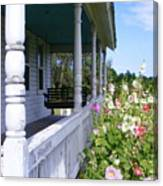 Amish Porch Canvas Print