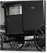 Amish Wagon _pa Canvas Print