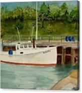 Amity At Round Pond Canvas Print