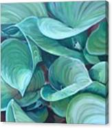 Among The Leaves Canvas Print
