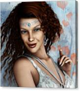 Amorous Canvas Print