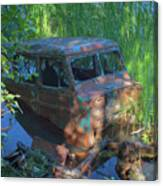 Amphibious Vehicle Canvas Print