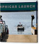 Amphicar Launch Canvas Print