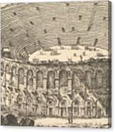 Amphitheater Of Verona Canvas Print