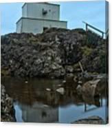 Amphitrite Point Lighthouse Reflections Canvas Print