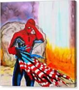 Ams 9/11 Tribute Illustration Edition Canvas Print