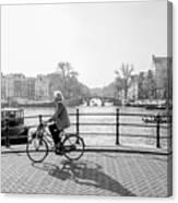 Amsterdam Bike Ride Canvas Print
