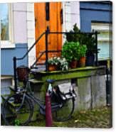 Amsterdam Door Canvas Print