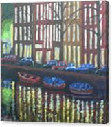 Amsterdam Evening Canvas Print