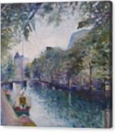 Amsterdam Holland 1997.  Canvas Print