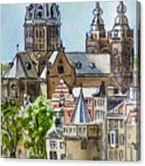 Amsterdam Holland Canvas Print