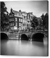 Amsterdam, Leliegracht Canvas Print