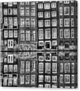 Amsterdam Reflections Canvas Print