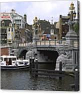 Amsterdam Scene Canvas Print