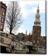 Amsterdam Waterviev Canvas Print