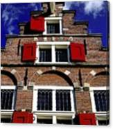 Amsterdam Windows Canvas Print