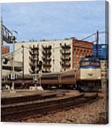 Amtrak 90413 Canvas Print