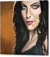 Amy Lee Canvas Print