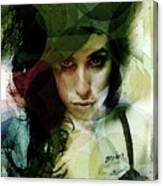 Amy Whirls  Canvas Print