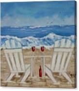 Amy's Beach Canvas Print