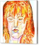 Face Planes Canvas Print