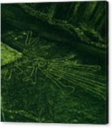 An Aerial View Of The Nazca Lines. They Canvas Print