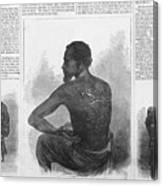 An African American Runaway Slave Named Canvas Print