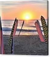 An All-american Sunrise Canvas Print
