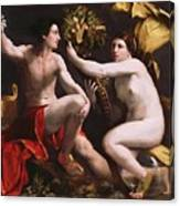 An Allegory Of Fortune 1538 Canvas Print