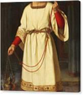 An Altar Boy Canvas Print