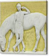 An Amazon Watering Her Horse, Rome Canvas Print