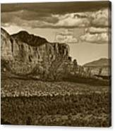 An Ancient View Tint Canvas Print