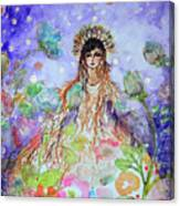 An Angel For All Of The Chakras And Her Name Is Simplicity Canvas Print