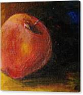 An Apple - A Solitude Canvas Print