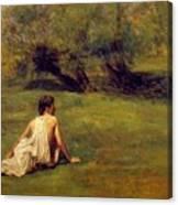 An Arcadian Canvas Print