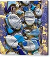 An Arrangement Of Stones Canvas Print