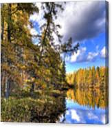 An Autumn Day At Woodcraft Camp Canvas Print