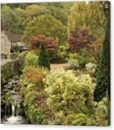 An Autumn Garden  Canvas Print