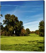 An Autumn Golf Day Canvas Print